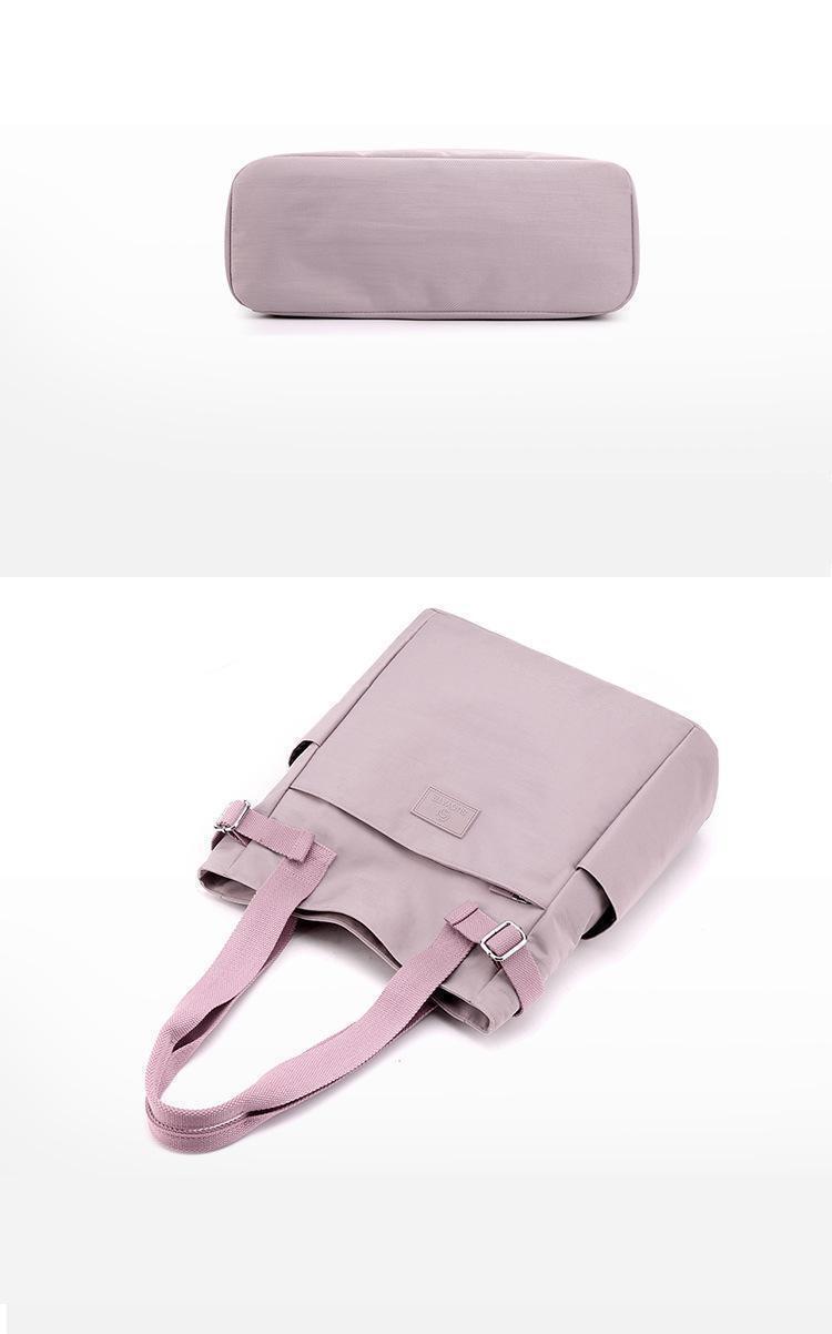 Graceful Lightweight Waterproof Canvas Tote Shoulder Bag MT0051