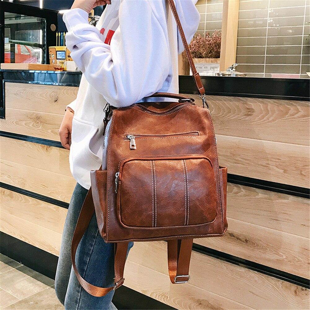 Retro Large capacity Convertible Travel Backpack Shoulder Bags MT0062
